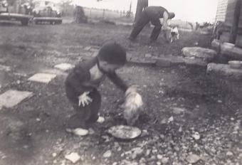 Jim Mason and Piglet